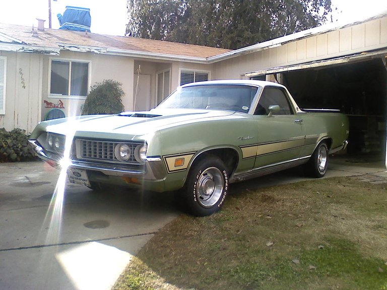 1971 - Ford, Ranchero GT