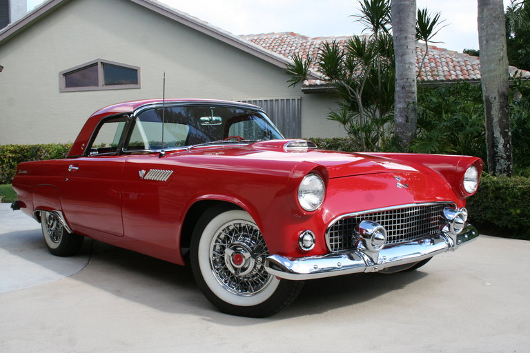 1955 - Ford, Thunderbird
