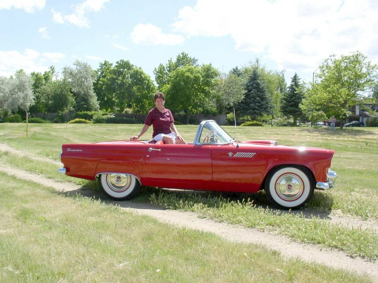 1955 - Ford, T-Bird