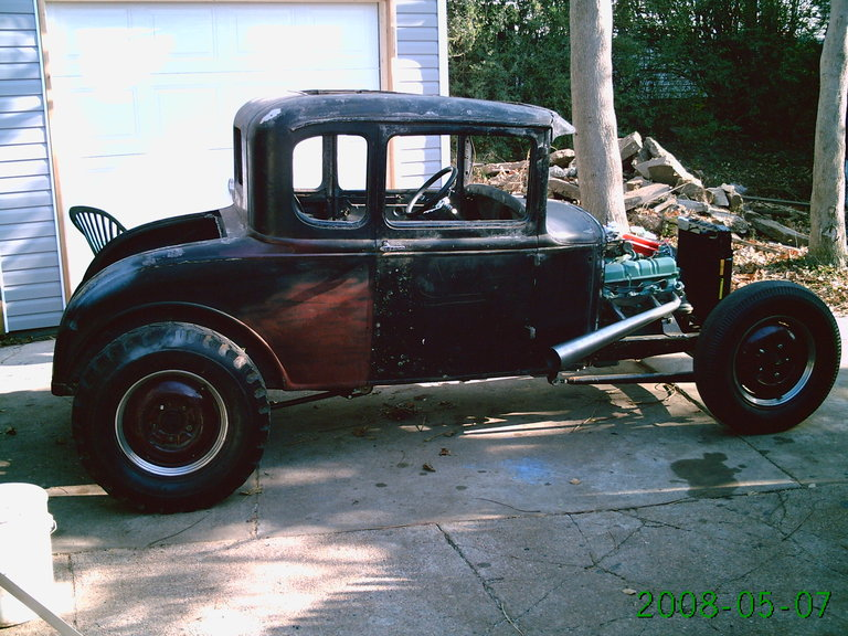 1930 - Ford, 5 window coupe