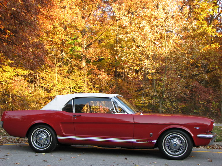 1966 - Ford, Mustang GT Convertible
