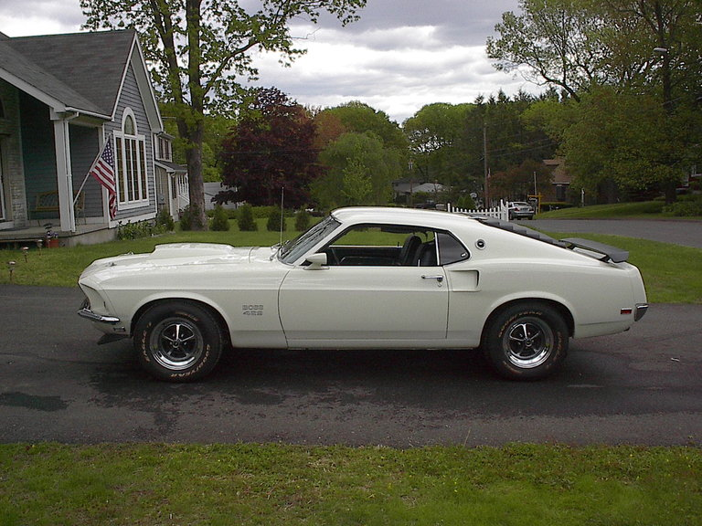 1969 - FORD, BOSS 429 MUSTANG