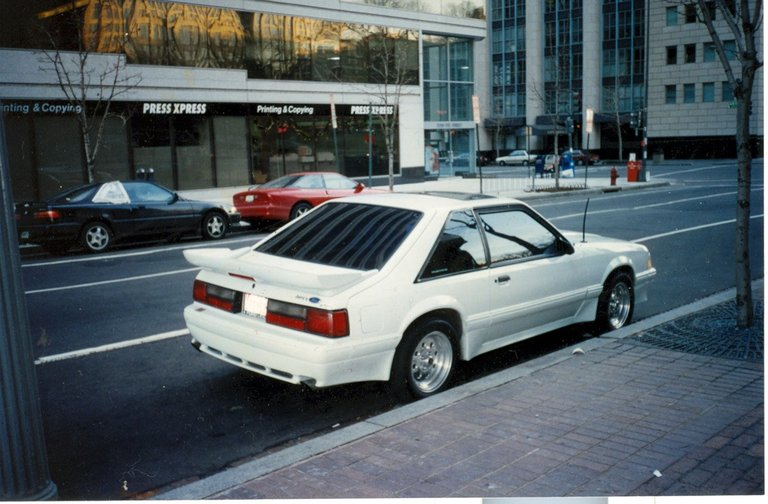 1989 - Ford, Mustang GT