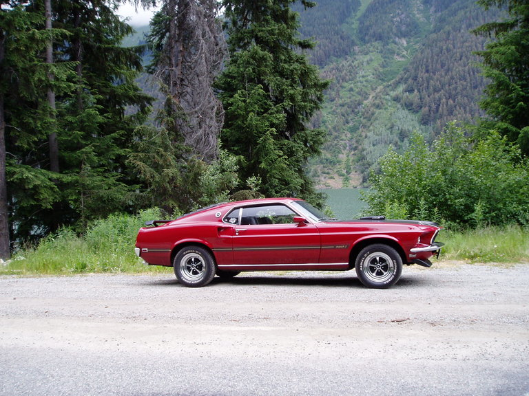 1969 - Ford, Mustang Mach1