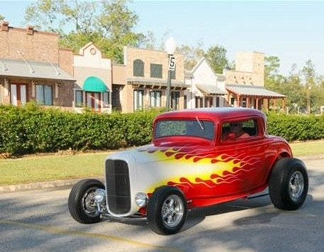 1932 - Ford, Hiboy coupe