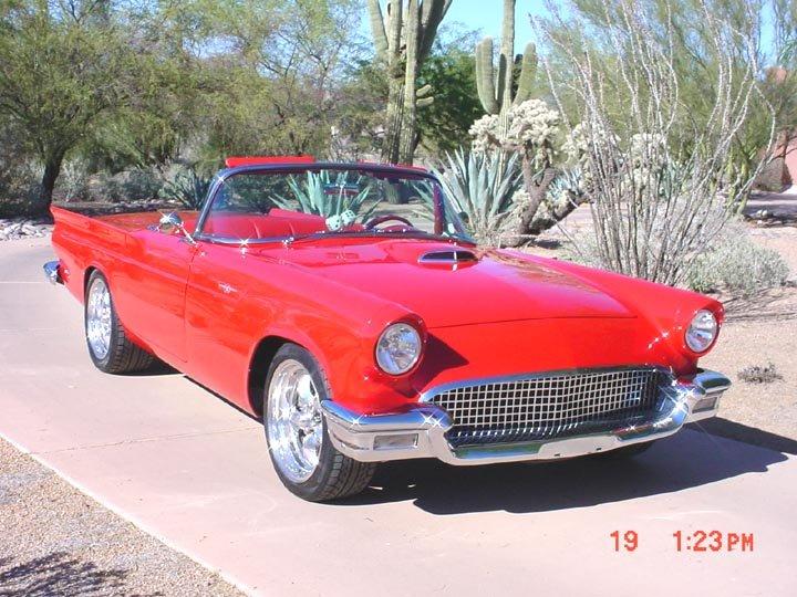 1957 - ford, thunderbird