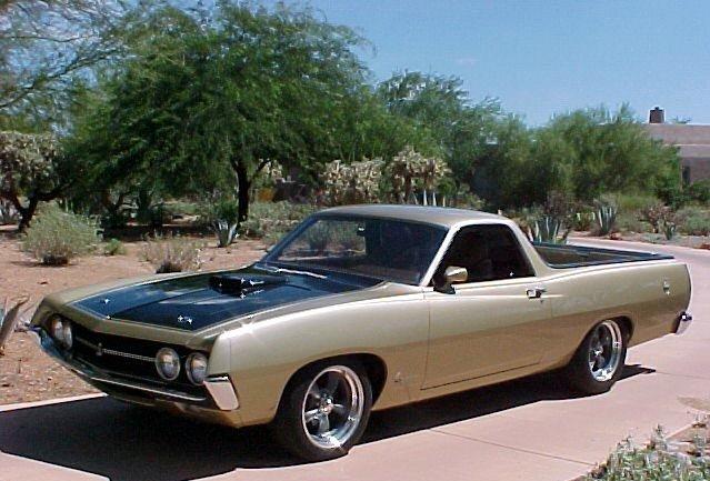 1970 - ford, ranchero