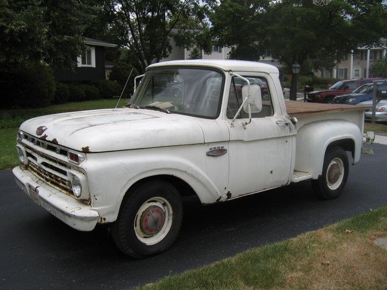 1966 - Ford, F100 Stepside