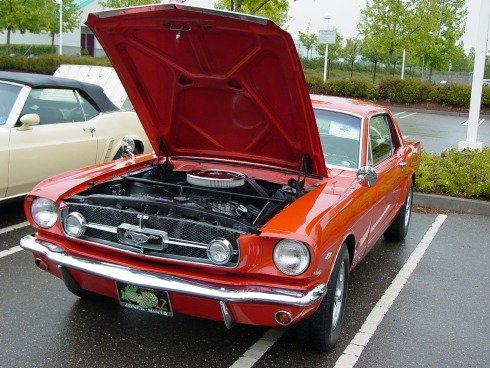 1965 - Ford, Mustang GT Coupe
