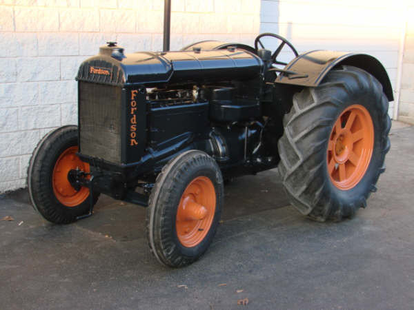 1936 - FORDSON, N TRACTOR