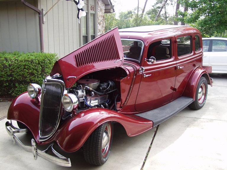 1934 - Ford, Model 40 Fordor