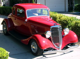1934 - ford, 5 window coup