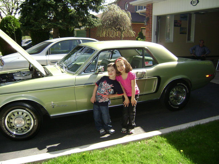 1968 - Ford, Mustang GT