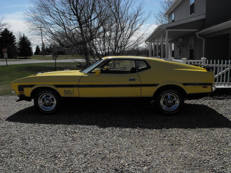 1972 - Ford, Mach 1