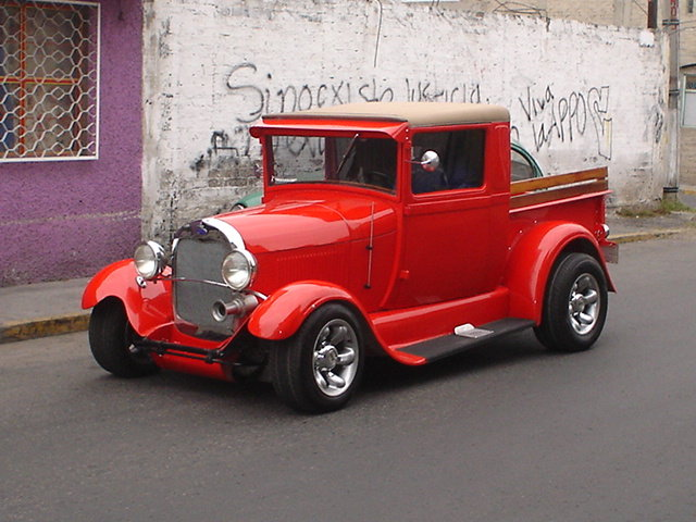 1929 - FORD, MODEL A PICK UP