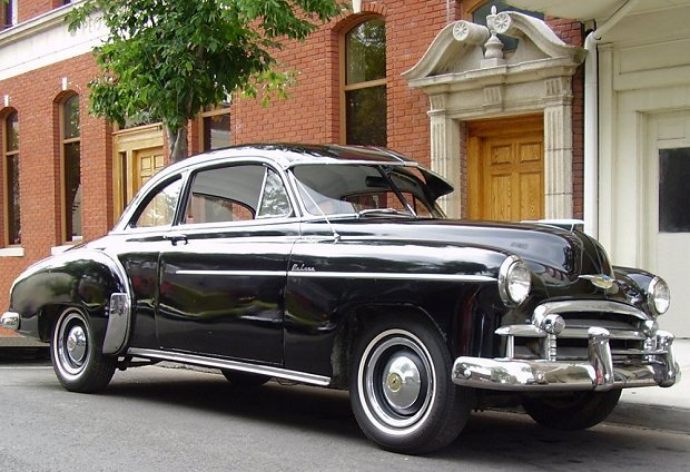 1950 - Chevrolet, Deluxe Skyline Coupe
