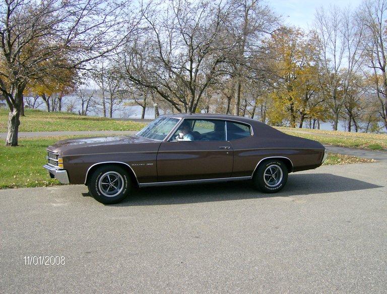 1971 - Chevrolet, Chevelle Malibu 350-350 Turbo