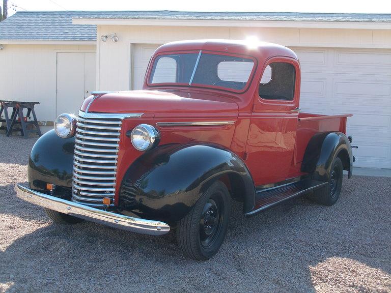 1939 - Chevrolet, JC  (1/2 ton P/U)