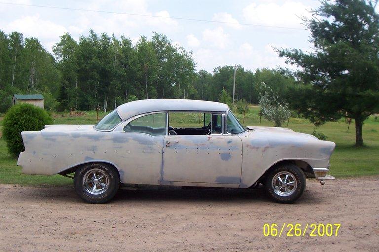 1956 - chevrolet, bel air hard top