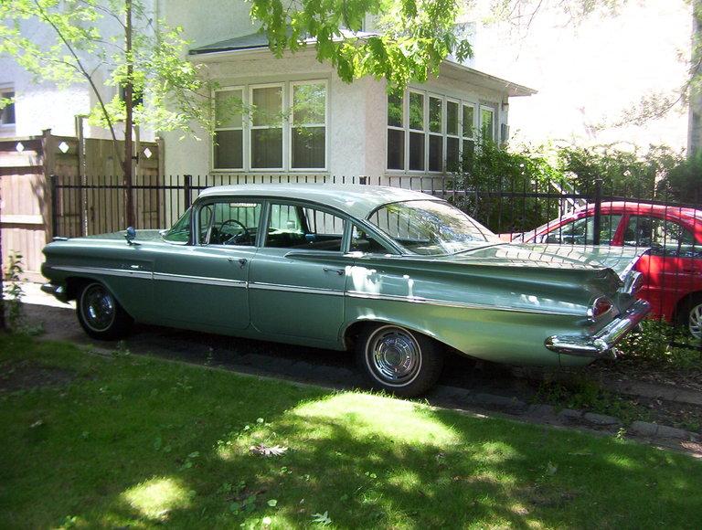 1959 - Chevrolet, Bel-Air 4 Door Sedan