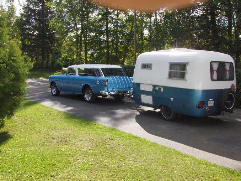1955 - Chevy, Nomad