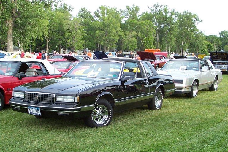 1987 - Chevrolet, Monte Carlo CL