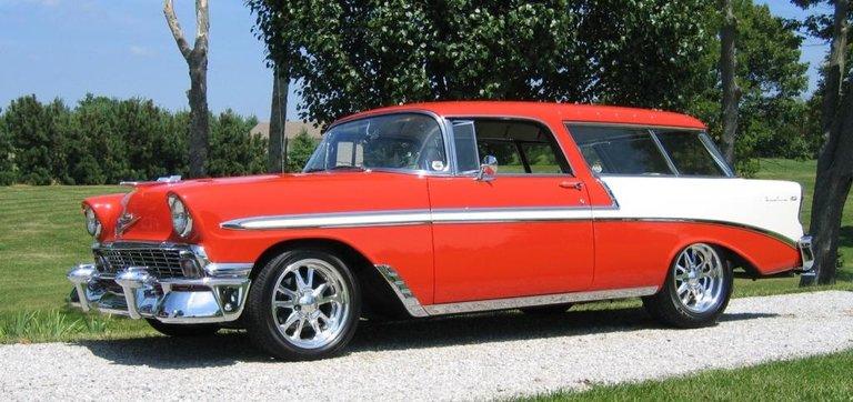 1956 - Chevrolet, Nomad