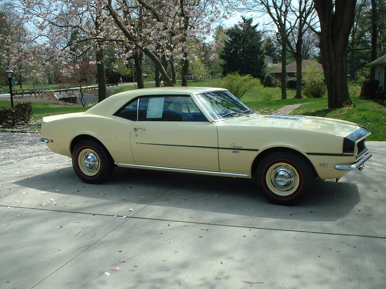 1968 - CHEVROLET, CAMARO SS396