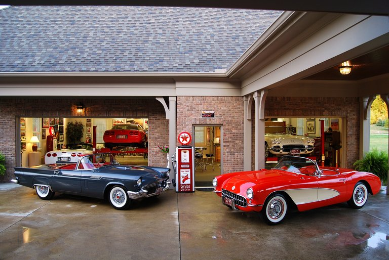1957 - Chev & Ford, Corvette & T-Bird