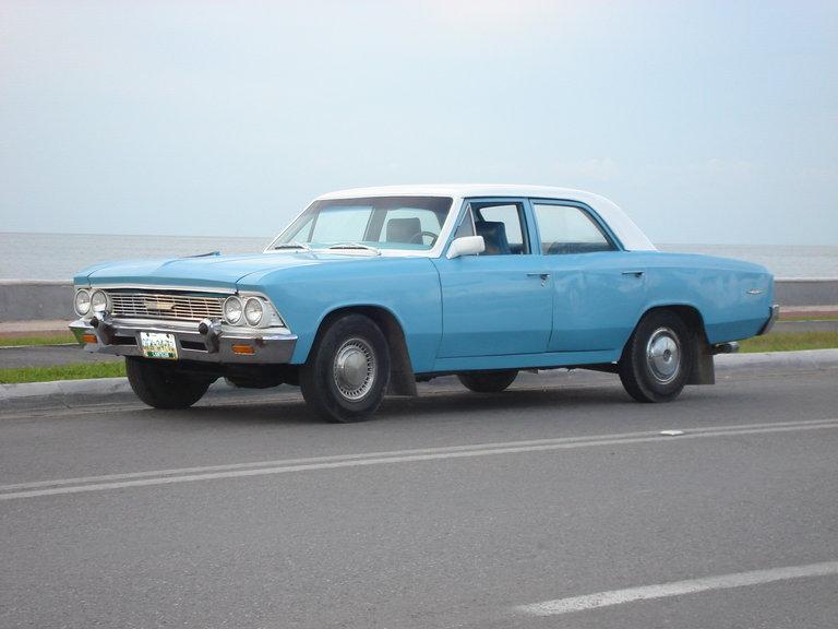 1966 - chevrolet, chevelle 66 sedan