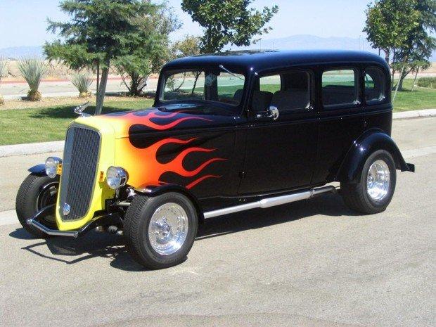 1934 - Chevrolet, Master Sedan