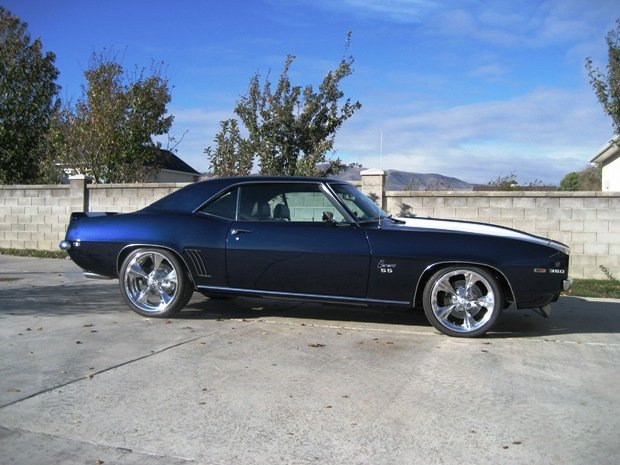 1969 - Chevy, Camaro rs/ss