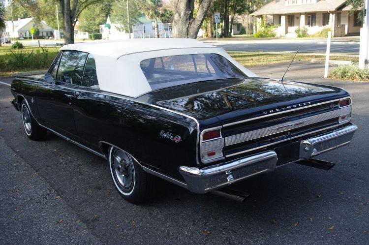 1964 - Chevelle Malibu, Malibu Convertible