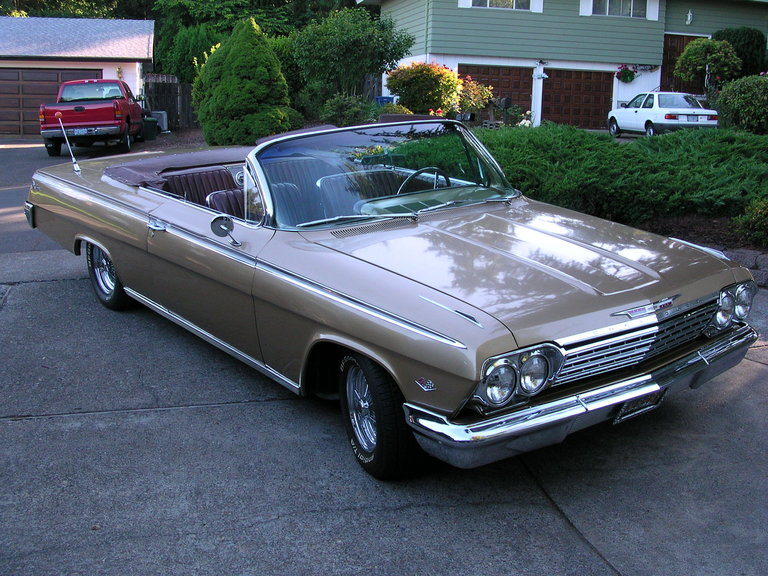 1962 - Chevorlet, Impala SS Convertible