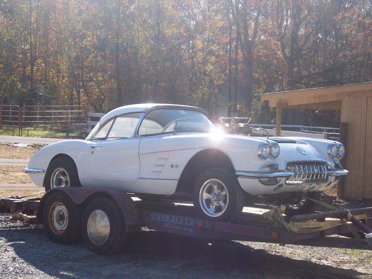 1958 - Chevrolet, Corvette