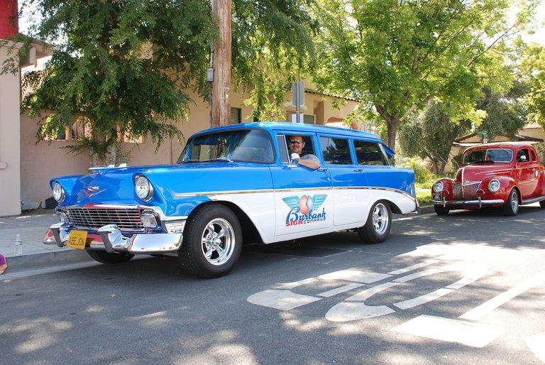1956 - Chevrolet, 210/150 wagon