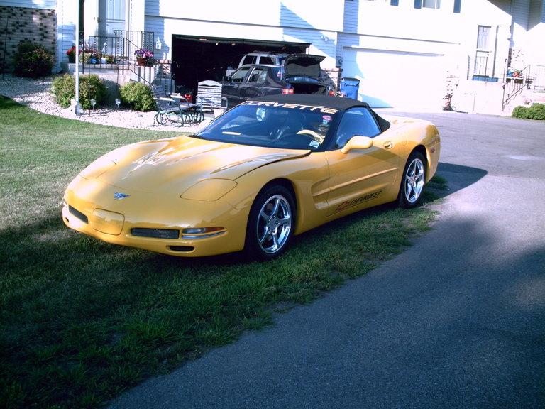 2003 - chevy, corvette