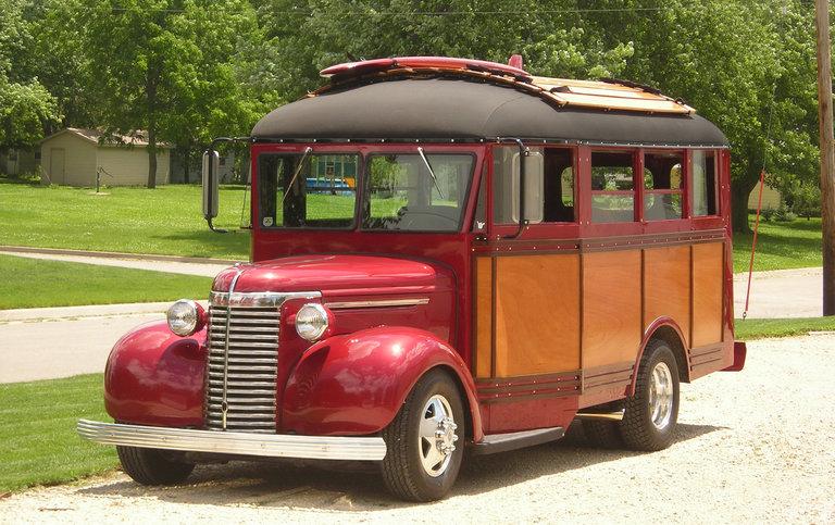 1940 - Chevrolet, School Bus