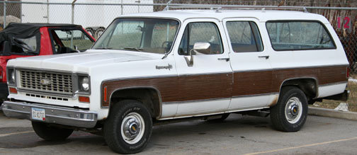1974 - Chevrolet, Suburban