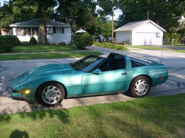 1991 - Chevy, Corvette