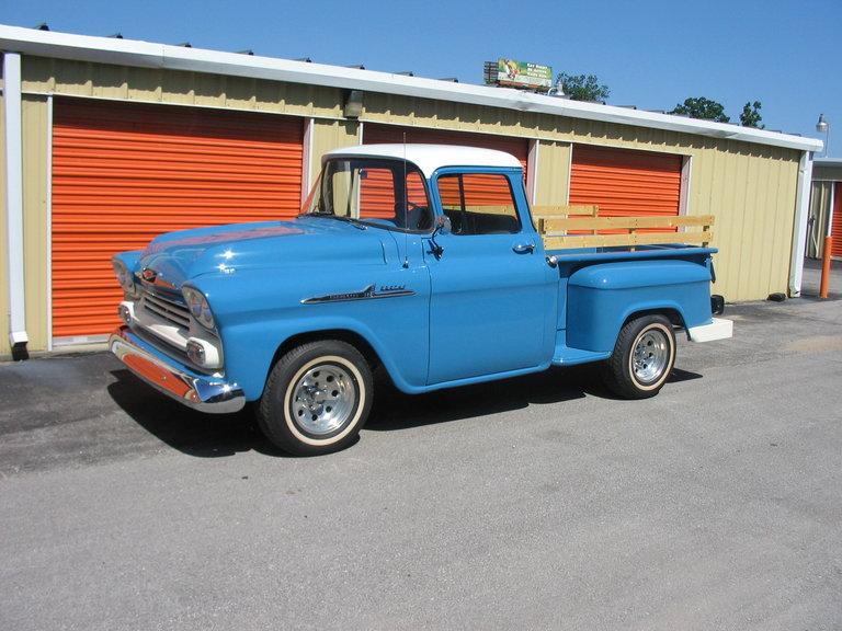 1958 - Chevrolet, pickup