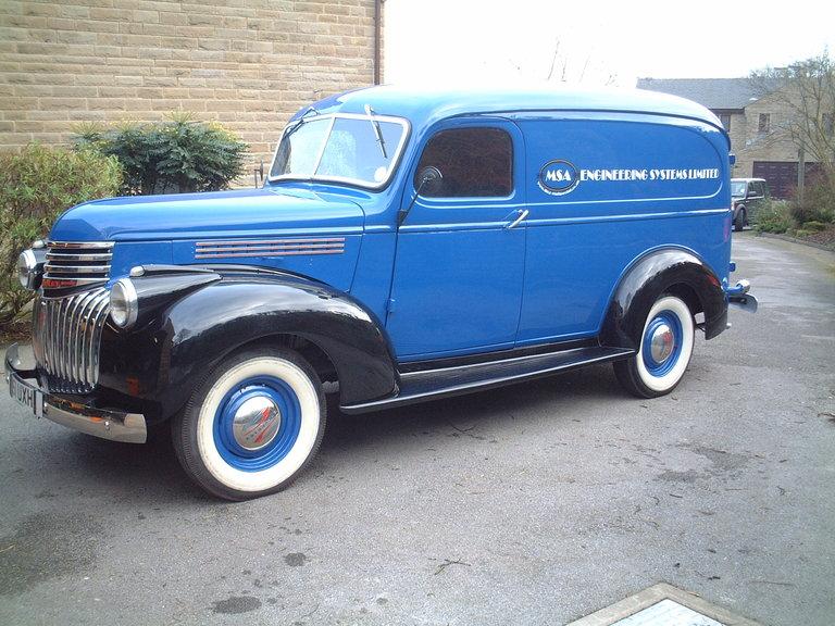 1946 - Chevrolet, Panel Van