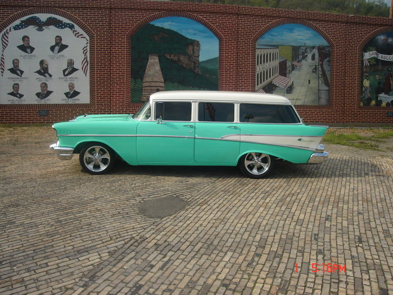 1957 - Chevrolet, 210 Wagon