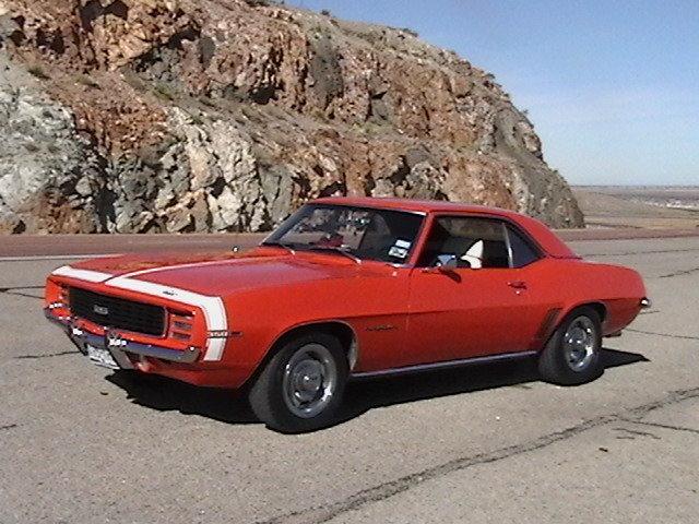 1969 - chevy, camaro