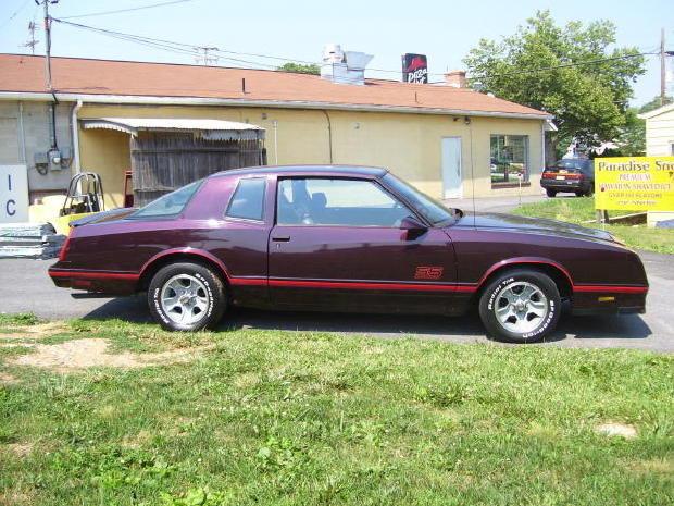 1987 - Chevrolet, Monte Carlo SS Aerocoupe