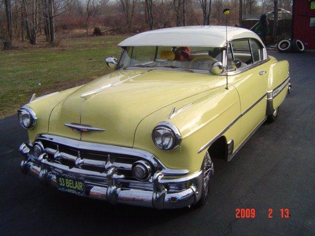 1953 - chevy, belair