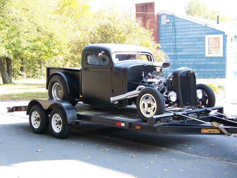 1936 - chevy, drag truck