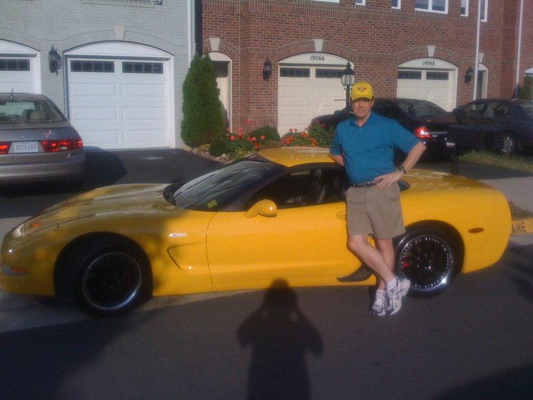 2004 - Chevrolet, Corvette Z06 - Millennium Yellow