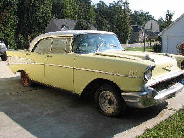 1957 - Chevy, belair
