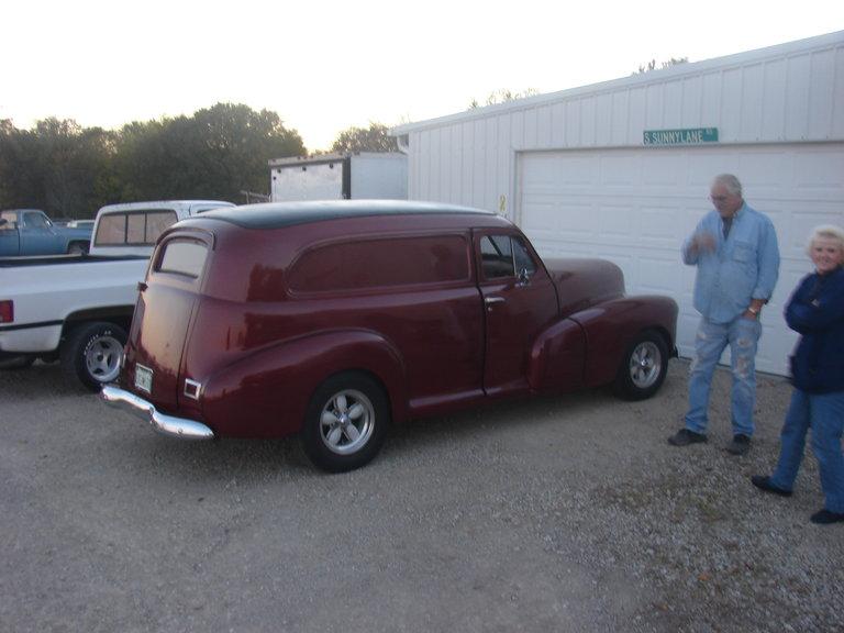 1948 - Chevrolet, Sedan Delivery Van